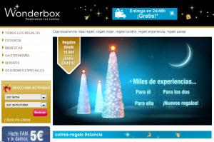 cajas de experiencias wonderbox