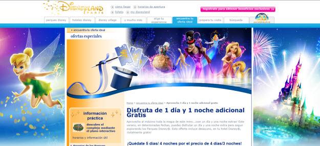 Ofertas a Disneyland París