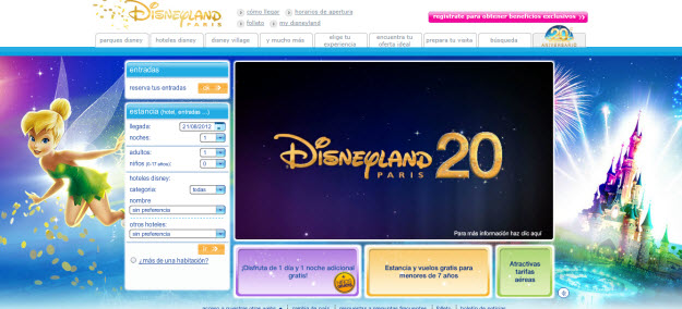Regalar viaje a Disneyland París