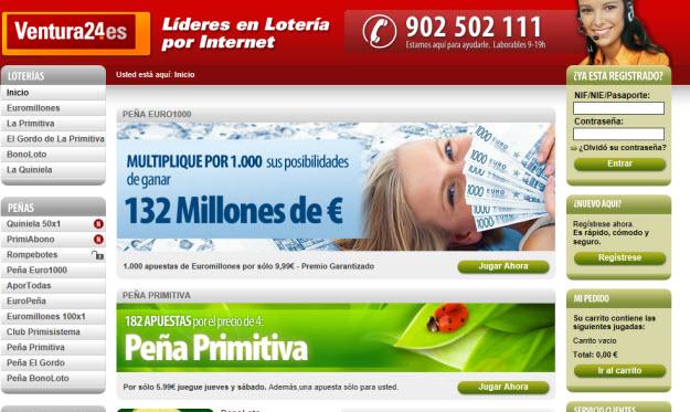 Jugar a euromillones por internet