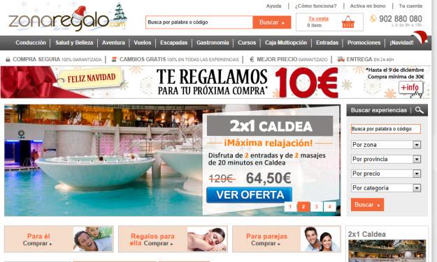 Opiniones de Zonaregalo.com