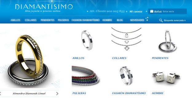 Regalar diamantes baratos por internet en Diamantisimo