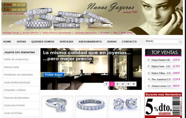 Regalar diamantes baratos por internet