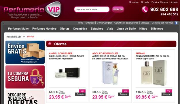 Regalar fragancias de primeras marcas en Perfumería VIP