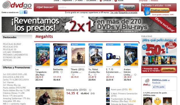 Regalar películas en Blu Ray