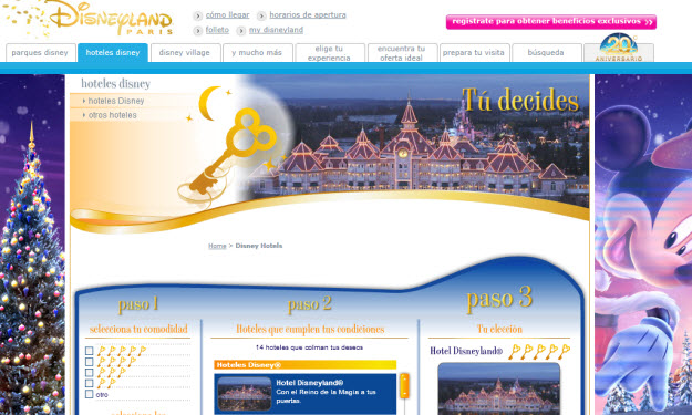 Ofertas de Disneyland París