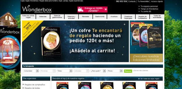 Regalar caja de experiencias para reyes en Wonderbox