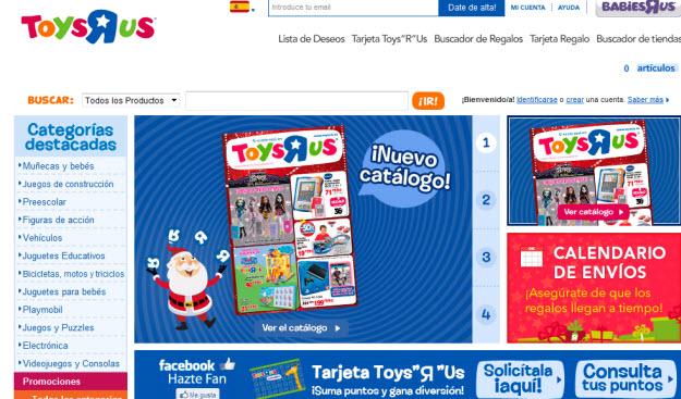 Regalar juguetes de última hora para reyes en Toys R Us