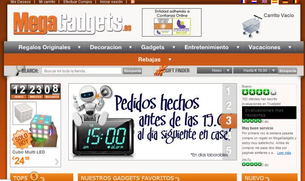 Regalos baratos para Reyes de electrónica en Mega Gadgets