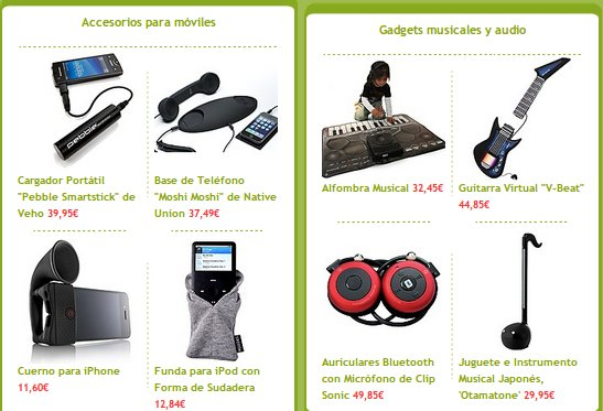 Disfraces, gadgets y regalos originales