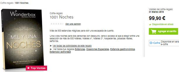 wonderbox 1001 noches