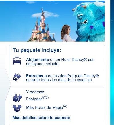entradas a Disneyland Paris