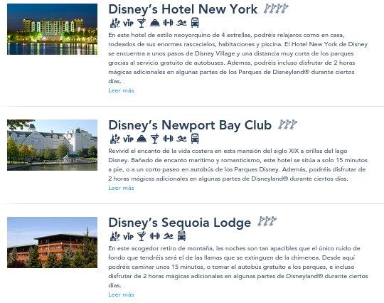 Regalo Viaje Disneyland París hoteles