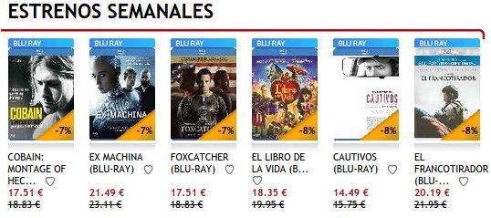 Regalar cofres de películas precios