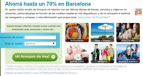 Regalar planes de ocio Barcelona
