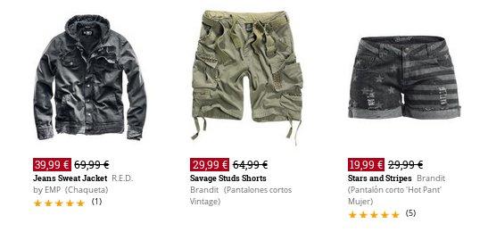 EMP online ropa rockera