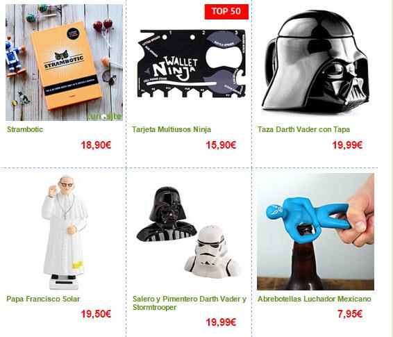 Regalos frikis 2015 baratos originales y de todos los for Regalos para hombres online