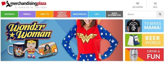 Merchandising cine online
