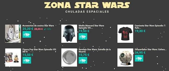 Merchandising cine star wars