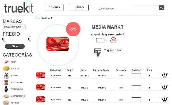 tarjetas regalo media markt
