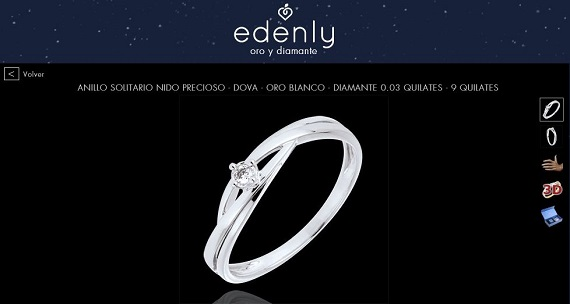 anillos de pedida online