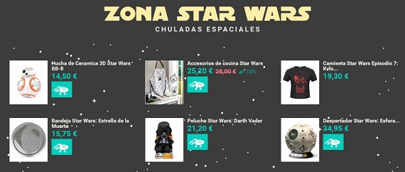 merchandising friki star wars