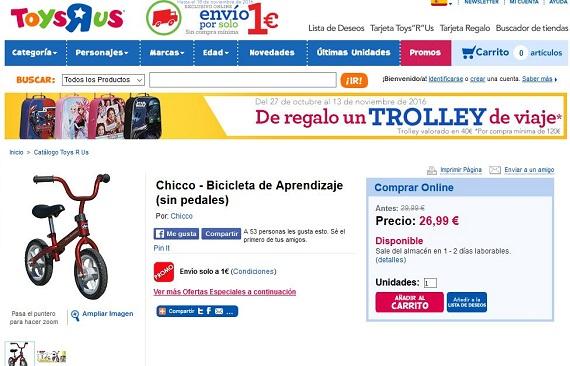 Cat logo toysrus 2016 ofertas en juguetes y disfraces de - Maletas infantiles toysrus ...