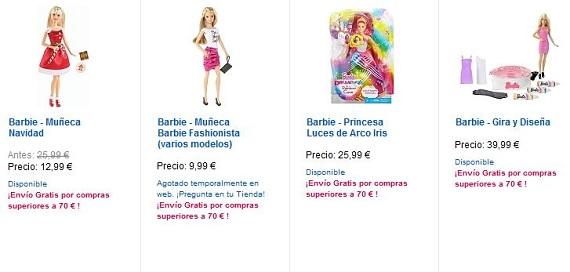 munecas-barbie-precios