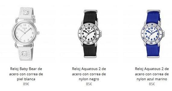 regalos comunión relojes