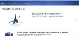 Ofertas Disneyland París 2017: paquetes de alojamiento y entradas