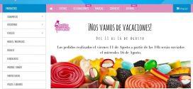 Chuches para bodas baratas online: Candy Bar originales sin azúcar