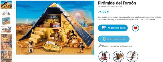 playmobil piramide