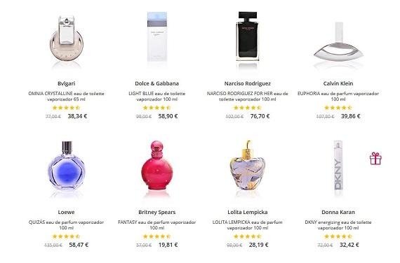 perfumes dia de la madre de marca