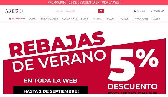 gran selección de 4199b 4660c Joyería Aresso: opiniones 2019 del catálogo y rebajas ...
