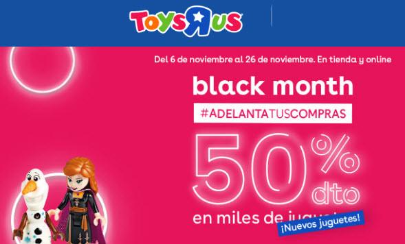 black month toysrus